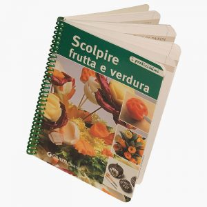 "Manuale ""Scolpire frutta e verdura"" - Art. DE4402132"